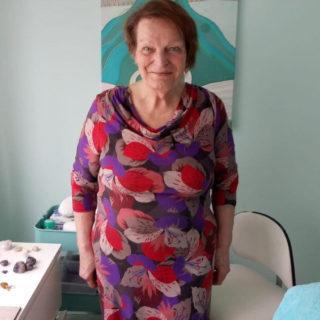 Paula eind mei 2019: 95 kilo